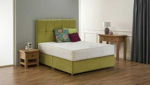 Back Support Bed: Mattress & Divan Base