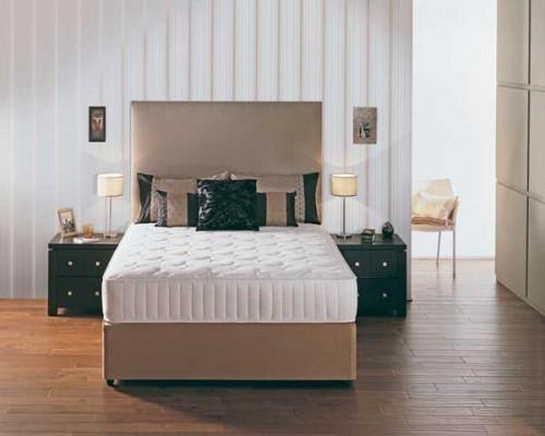 Memory Pocket Bed: Mattress & Divan Base