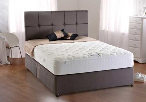 Pocket 1200 Bed: Mattress & Divan Base