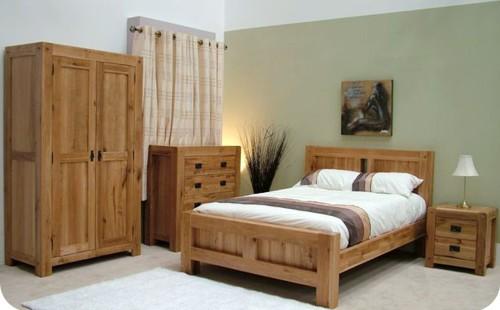 Chunky Oak: Bedroom Range
