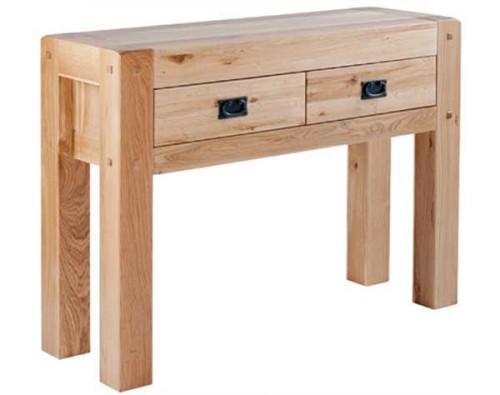 Chunky Oak: Console Table