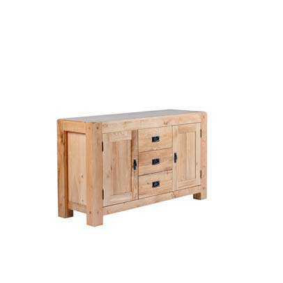 Chunky Oak: Large Sideboard
