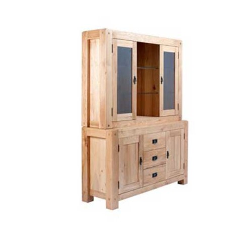Chunky Oak: Large Dresser