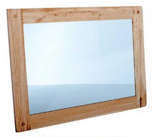 Chunky Oak: Wall Mirror