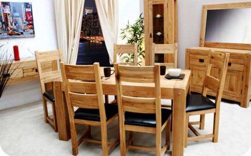 Chunky Oak: Dining Range
