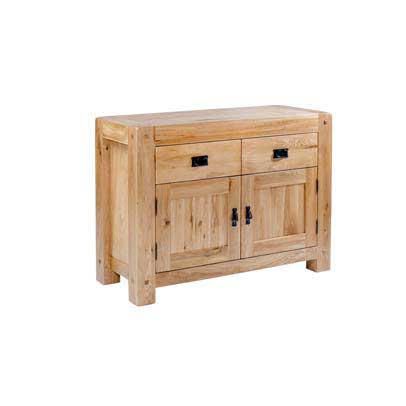 Chunky Oak: Small Sideboard