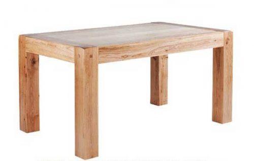 Chunky Oak: Dining Table