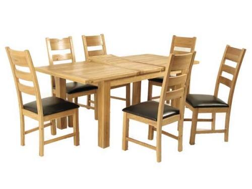 Elm: 5ft Extending Dining Set