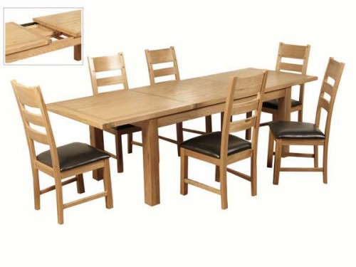 Elm: 6ft Extending Dining Set