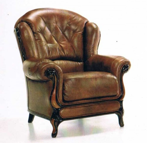 Florence: Leather Chair