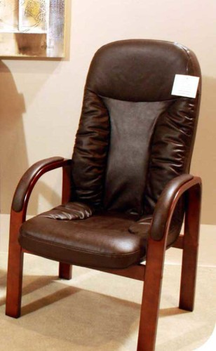 Backcare: Orthopedic Chair. Leather