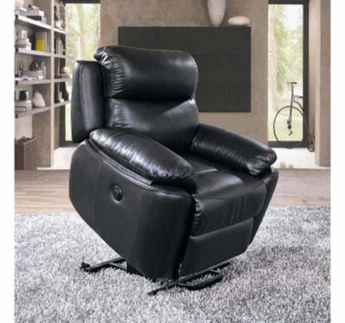New York: Leather. Rise and Recline Chair