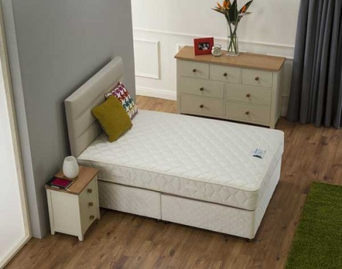 Purotex Bed: Mattress & Divan Base