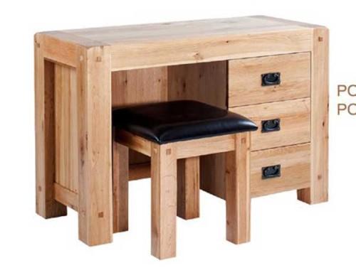 Chunky Oak: Dressing Table
