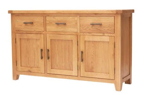 Rustic Oak: Large Sideboard
