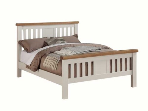 Country: Stone & Oak.Timber Bedframe