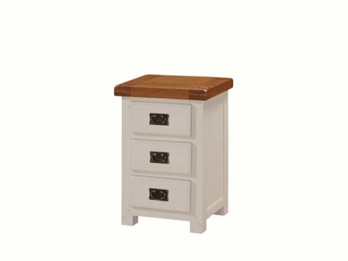 Country: Stone & Oak. Bedside Chest