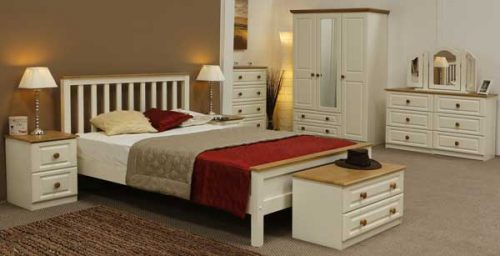 Claddagh: Ivory & Oak. Bedroom Range