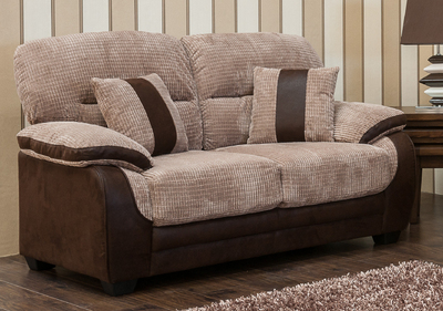 Newton: Fabric 2 Seater Sofa.