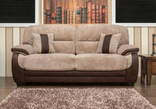 Newton: Fabric 3 Seater Sofa.