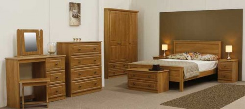 Claddagh: Bedroom Range. Oak