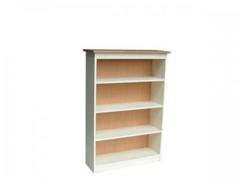 Claddagh: Bookcase. Ivory / Oak