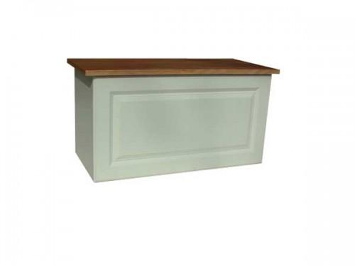 Claddagh: Blanket Box. Ivory / Oak