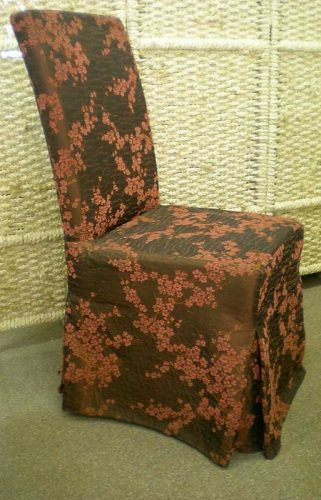 Dining Chair: Floral.