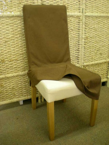 Dining Chair: Removable cover.