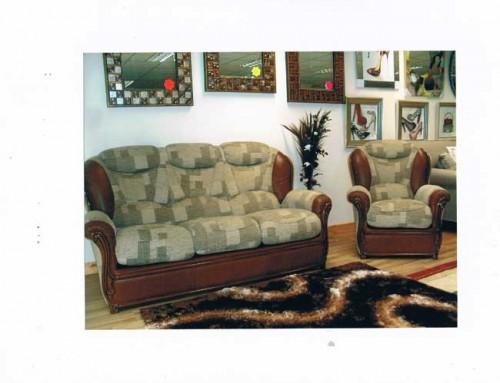 Oscar: Leather & Fabric. Suite