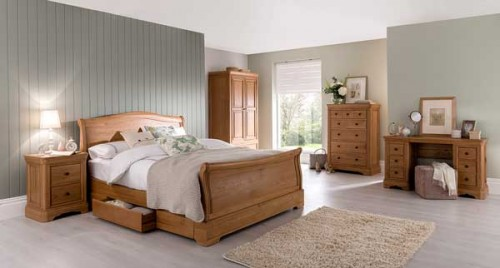 Chateau: Oak. Bedroom Range