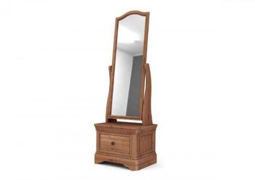 Chateau: Oak. Cheval Mirror