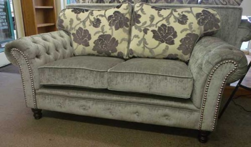 Buckingham: Fabric. 2 seater Sofa