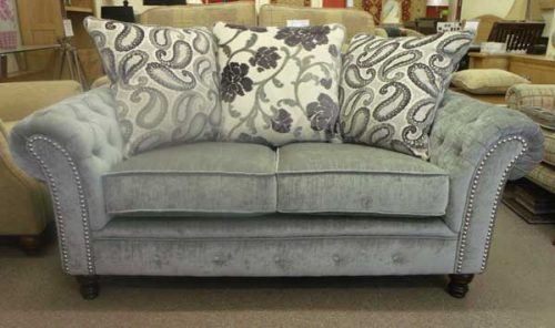 Kensington: Fabric. 2 seater Sofa
