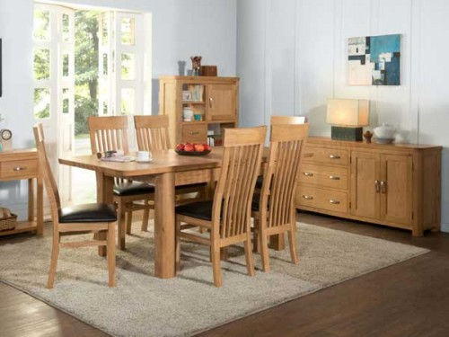 Rich Oak: Oak. Dining Range