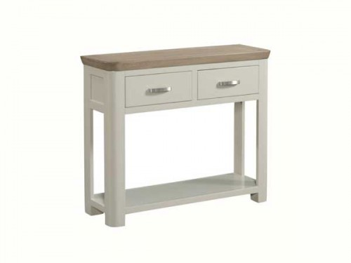 Rich Oak: Painted Console Table. (Large)
