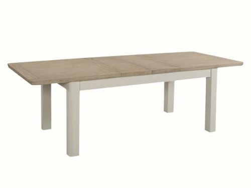 Rich Oak: Painted. 6ft Extending Dining Table