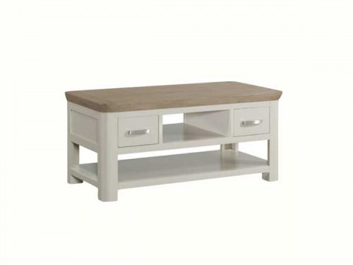 Rich Oak: Painted Coffee Table. (Standard)