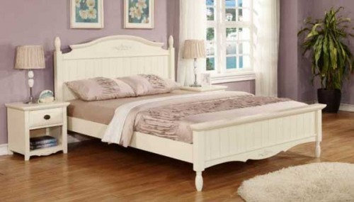 Chantel: Baroque, 4ft 6ins Double Bedframe.