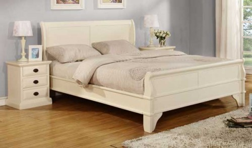 Chantel: Sleagh, 4ft 6ins Double Bedframe.