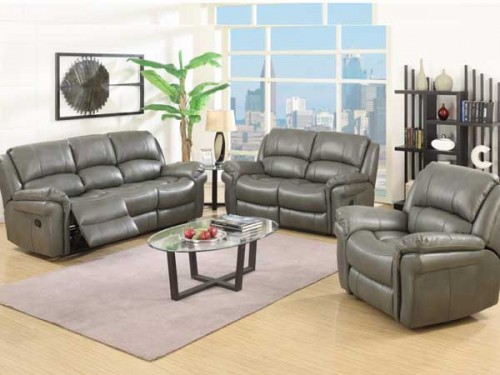 Romario: Leather Air Fabric. Suite Reclining