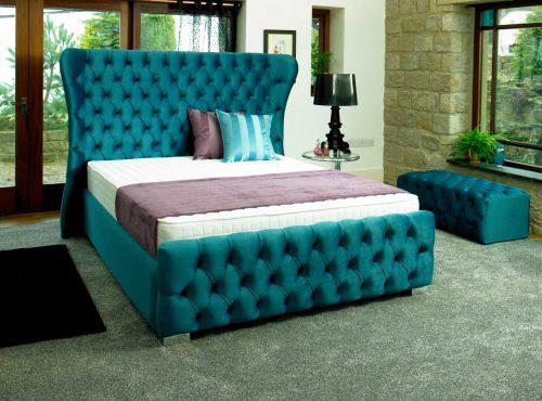 Princess: Fabric. Bedframe