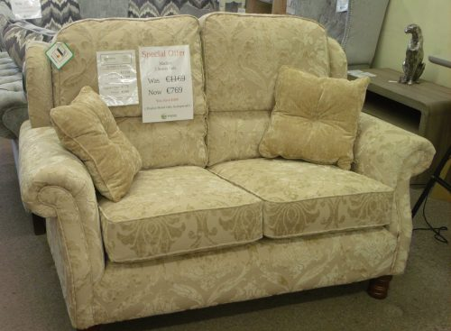 Hadley: 2 Seater Sofa, Fabric.