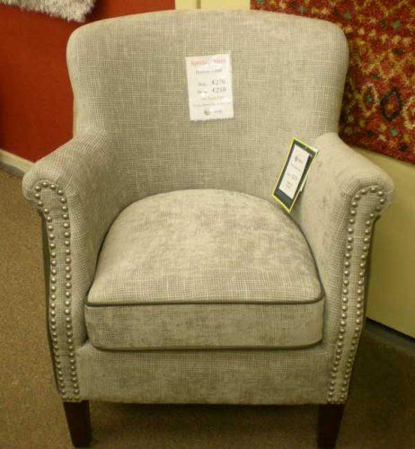 Harlow: Chair, Fabric.