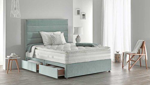 Respa: Platinum 1700 Pillow Top / Mattress & Divan.