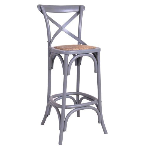 Crossback: Bar Stool.
