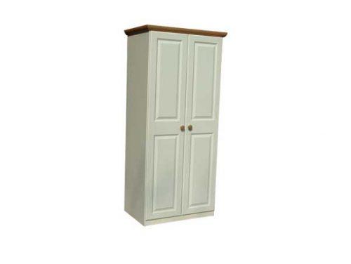 Claddagh: 2 Door Robe. Ivory & Oak