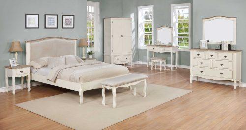 The Lille Range, Of Bedroom Furniture.