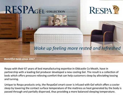 Respa: Gel Pocket Elite / Mattress.