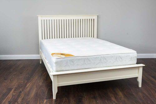 Tara: Bed Frame / White.
